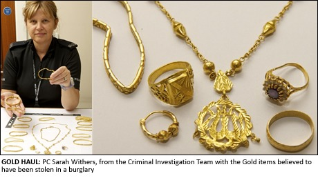 Owners of Gold haul sought by police News The Asian Today Online